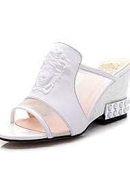 Women's Shoes Calf Hair Wedge Heel Slingback Sandals Dress More Colors Available