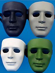 Máscaras de Dia das Bruxas / Máscaras de Carnaval / Fornecimento Festival 1Pcs