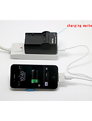 Multifunction USB IN Battery Charger For FUJIFILM NP-60 FNP-60 NP-120 FNP-120 60 120 F10 F11 ZS10
