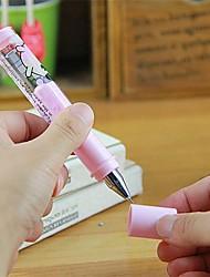 Cute Cartoon Stylish Multi Color Short Gel Pen (Random Delivery)