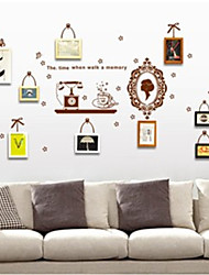 Wall Stickers Wall Decals, Decorative Frames PVC Wall Stickers