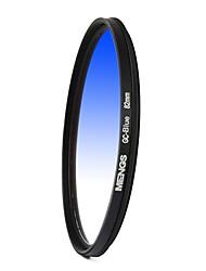 MENGS® 82mm Graduated BLUE Filter For Canon Nikon Sony Fuji Pentax Olympus Etc Camera