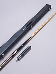 3/4 Jointed Handmade ash snooker/Pool Cue LP inlay with shells billiard cue+Cue Case