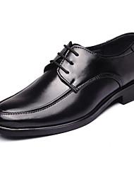 Zapatos de Hombre Oxfords Boda / Oficina y Trabajo / Vestido / Fiesta y Noche Pelo de Ternero Negro