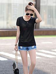 Polyester Vrouwen - T-shirt - Korte mouw