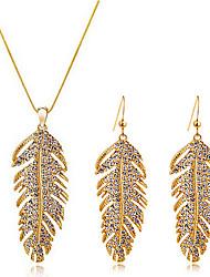 Austria crystal jewelry set