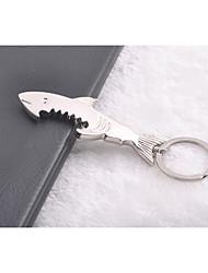 Shark Multifunction  Key Ring Keychain Bottle Open Gift Favor