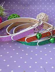 Shiny PU Collar For Dogs