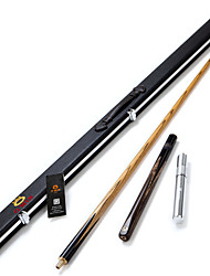3/4 Jointed  Handmade ash snooker Cue stick  O'min brand  billiard cue+Cue Case