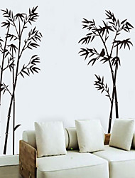 Wall Stickers Wall Decals, Style The Bird Bamboo PVC Wall Stickers