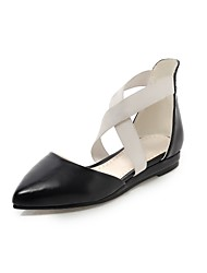 Women's Shoes Flat Heel Pointed Toe Flats Shoes with Gore Dress More Colors available