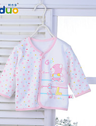 Ajiduo Unisex Newborn Baby Clothing Boy Girl Pure Cotton Long Sleeve Tops Clothes