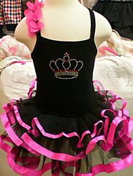 Balé Vestidos Mulheres Actuação Treino Algodão Manga Curta Natural
