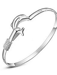 kiki 925 sterling zilveren dolfijn baai houden zilveren armband