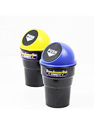 LIWEN® Car Fashional Design Trash Barrel Quality ABS Made(7 Colors)