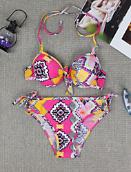 New  Floral Print Hot Sale  Triangle  Swimsuit