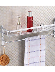 Bathroom/ Kitchen Shelf  Aluminium Towel Rack With Bar