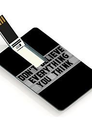 16gb geloof niet alles wat je denkt ontwerp kaart usb flash drive