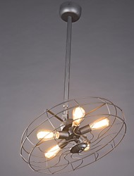 Pendant Light Industrial/Classic/Rustic/Lodge/Vintage/Retro/Country/Dining Room/NightBar/Coffee Store/Metal Fan Light