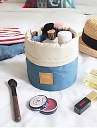 Cosmetic Bag - Bleu/Rouge  - Nylon