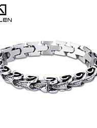 Kalen 2015 Men's Jewelry Unique Design Stainless Steel Bracelet