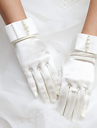 Satin Wrist Length Wedding/Party Glove