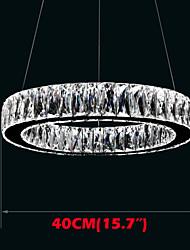 Crystal LED Pendant Lights Lighting Modern Single Rings D40CM K9 Large Crystal Indoor Ceiling Light Fixtures