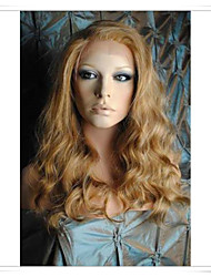 "Cinderella Blonde 8""-22"" 100% Virgin Human Hair Wave Full Lace Front Wigs LWG004 Photo Color #27/613/30 Length 16"""
