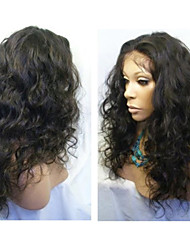 Glueless Full Lace Human Hair Wigs Brazilian Hair Curly Wigs Natural Color Full Lace Wig For Black Women