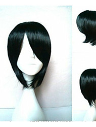 Wonderful  Woman's Short Straight Synthetic Hair Wigs Natural Animated Wigs Cosplay Wig Party Wigs 4 Colors