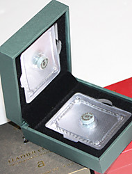 Leder Snooker / Billard-Queue Spitze Besetzung Ebene 10,5 mm Schachtel 4pcs (hart: m, s, h wählen)