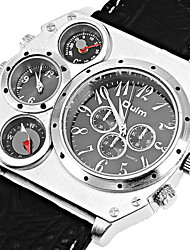 The metal men multifunctional business quartz watch movement OULM6100