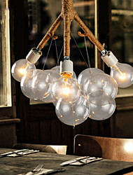 Chandeliers Bulb Included Country Bedroom/Dining Room/Study Room/Office/Hallway Metal