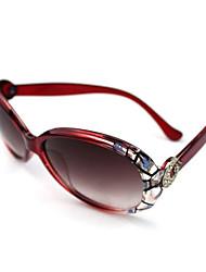 100% UV 400 damesmode oversized gradiëntkleur zonnebril