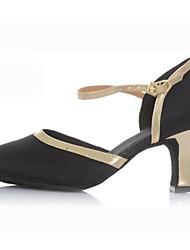Zapatos de baile (Negro) - Moderno - No Personalizable - Tacón bajo