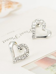 Han edition style hearts earrings