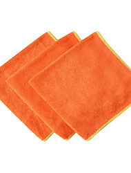 Sinland Multi-purpose Microfiber Absorbent & Fast Drying Cleaning Cloths 16 Inchx16 Inch 3 Pack