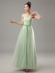 Dress Sheath/Column Sweetheart Floor-length Chiffon