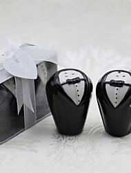 Boy's Love Salt and Pepper Shakers Wedding Favor