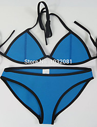 sexy neoprene swimsuit mulheres swimwear fundo Maiô bikini desgaste banhista maillot de bain maiô biquini V48 top +