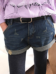 Women's Hole Loose Jeans