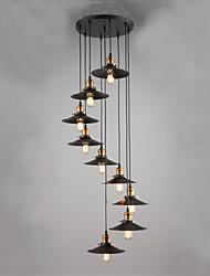 MAX:60W Подвесные лампы ,  Деревня Живопись Особенность for Мини Металл Гостиная / Спальня / Столовая / Кабинет/Офис / Прихожая