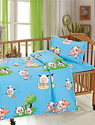 Boy Animal Design Baby Bedding Set 100% Cotton