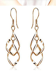 May Polly  Bicyclic twisted earrings