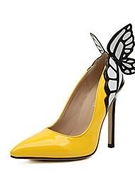 sapatos femininos preto / ouro / outros verdes