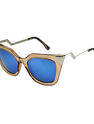 Sunglasses Women's Elegant / Fashion Cat-eye Multi-Color Sunglasses Full-Rim