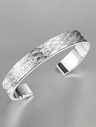 Hot Sale Party/Work/Casual Silver Plated Cuff Bracelet Wholesale Price