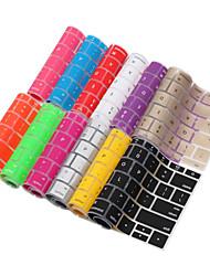 lention pele série tampa do teclado fantasia para macbook de 12 polegadas (cores sortidas)