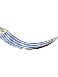 cogner le camping élargissement couleur toile hamac hamac hamac à long extérieur en bois loisirs ata13