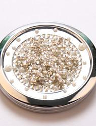 снег ощущение карман зеркало для макияжа косметические Портативные Miroir espelho Espejo де maquiagem bolso Maquillaje Bling